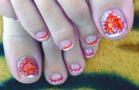 toe nail art the diverse artist valentine s day toe nail art best