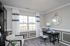 traditional home office with high ceiling u0026 carpet in concord nc