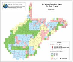 Virginia Mountains Map by Wvgistc Gis Data Clearinghouse