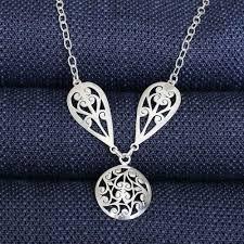 sterling silver necklace sale images Filigree sterling silver necklace north carolina jewelry jpg