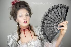 kryolan halloween makeup julia graf halloween series marie antoinette