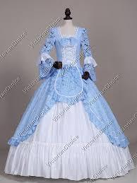 Ball Gown Halloween Costumes Colonial Alice Wonderland Dress Theater Reenactment Halloween