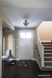 Interior Door Makeover A Simple Entryway Update My Painted Interior Door Makeover