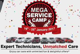 honda cars service honda cars mega free service c from 19th to 25 january 2017