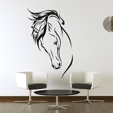 laboratory wall mural decals theme cadel michele home ideas wall mural decals horse