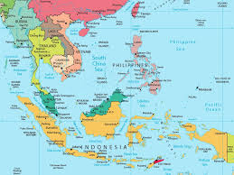 Map Of Pacific Islands Map Of Asian Islands Major Tourist Attractions Maps