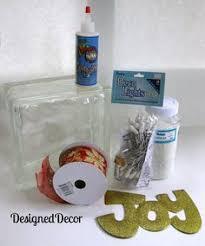 How To Decorate Glass Blocks How To Apply An Image On A Kraftyblok Wordpress Glass Blocks