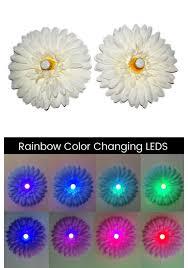 led light up pasties led light up daisy pasties white