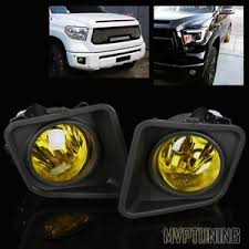 2016 toyota tundra fog light bulb for 2014 2016 toyota tundra yellow fog lights bumper driving ls