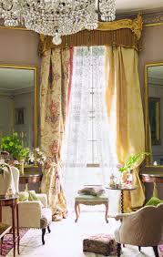 outstanding french style living room modern vintage curtains