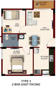 2 Bhk Home Design Layout by 25 More 2 Bedroom 3d Floor Plans Bhk House At 1000 Sq Ft Spacious