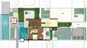 villa plan u2013 modern house