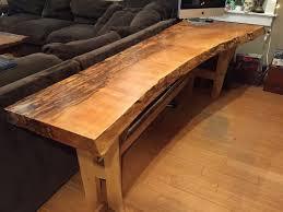 Wooden Office Desk Custom Wood Desk Seattle Wa Custom Wood Office Desk Seattle