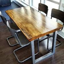 console table used as dining table barnboardstore com