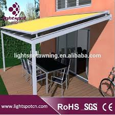 System Awnings Awning Glass Roof China Aluminum Glass Awning System Awning Glass