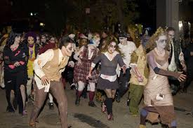 new york does halloween from the greenwich village parade to posh