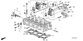 honda accord 4 door lx ka 5mt vtc oil control valve l4