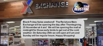 redstone arsenal on black friday sales weekend the