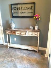 Corner Entry Table Table For Entry Way Top Console Tables For A Modern Entryway Table
