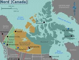 Canada Cities Map by North Canada Map U2013 Aack