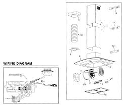 broan range hood wiring diagram broan wiring diagrams
