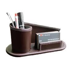 parure de bureau compartiment multifonctionnel bureau porte stylo papeterie