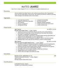 Sample Resume English Teacher by Teacher Resume Sample Resume Cover Letter Example