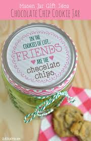 jar gift idea chocolate chip cookie jar club chica