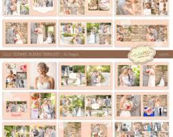 10x10 Wedding Album Square Wedding Album Template 12x12 10x10 8x8 24 Pages