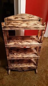 wonderful pallet bookshelf on wheels