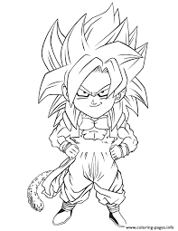 dragon ball gogeta coloring coloring pages printable