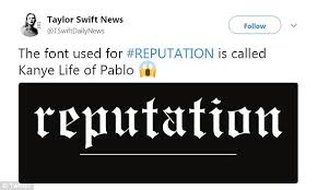 life of pablo taylor swift line taylor swift fans read into album cover on twitter daily mail online
