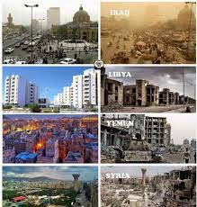 syria before and after iraq libya yemen syria before and after us intervention