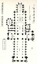 cathedral floor plan lichfield cathedral wikipedia