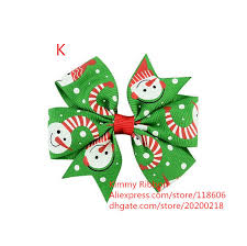 christmas hair accessories 200pcs christmas hair bows for kids