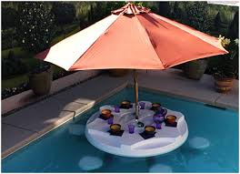 floating table for pool did someone say neon pool party