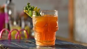 old monk punch easy to make party drink with old monk rum