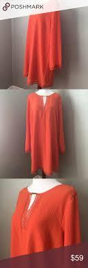 orange spice color nwt michael kors orange spice tunic dress flaws michael kors and