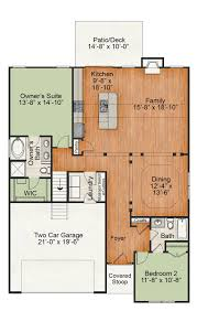 Dollhouse Floor Plans The Camden New Homes In Raleigh Nc Royal Oaks Homes