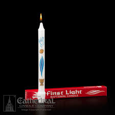 baptismal candles baptismal candle light churchsupplies