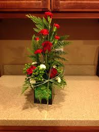 how to make flower arrangements how to make a christmas flower arrangement 13 steps with pictures