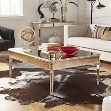 Mirror Living Room Tables Mirrored Living Room Furniture For Less Overstock