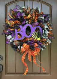 boo it u0027s halloween wreath tutorial 2017 trendy tree blog