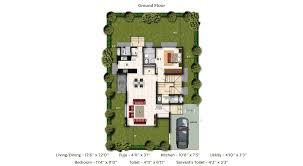 Antilla Floor Plan Villas Near Sarjapur Road Open Spaces For A Comfortable