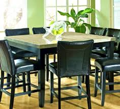 furniture enchanting bar height square dining table for room