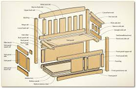 Woodworking Plans And Projects Magazine Back Issues by Build A Deacon U0027s Bench Canadian Woodworking Magazine