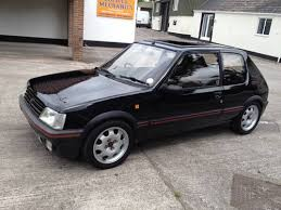black peugeot for sale for sale peugeot 205 1 9 gti 130 manual non cat black very quick