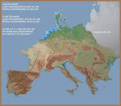 europe peninsulas map peninsula europe part ii the rising of waters the warming of