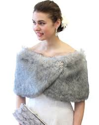 fur shawls for bridesmaids faux fur wrap fur stole fur shrug shawl for bridal weddings