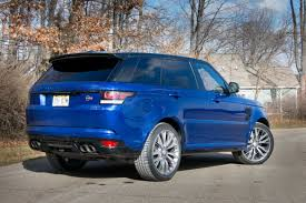range rover sport blue 2016 land rover range rover sport our review cars com